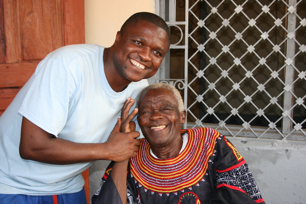 Chapter12 With my father on our second mission trip to Cameroon