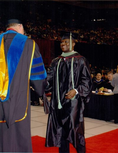Chapter7 Graduation day. Master of Science in Physician Assistant Studies from Texas Tech in 2005