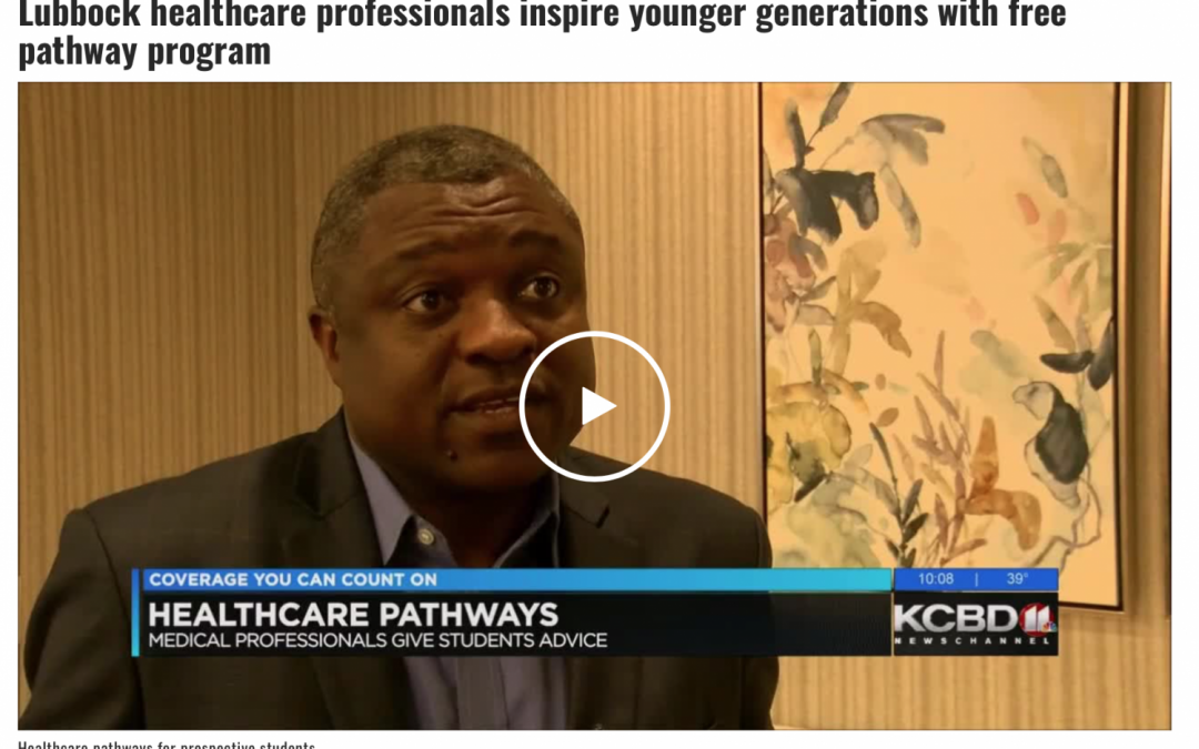Lubbock healthcare professionals inspire younger generations with free pathway program