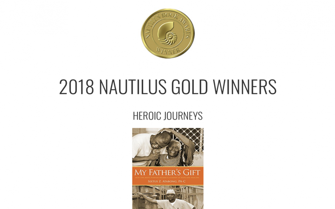 NAUTILUS BOOK AWARDS 2018 GOLD WINNER-My Father's Gift