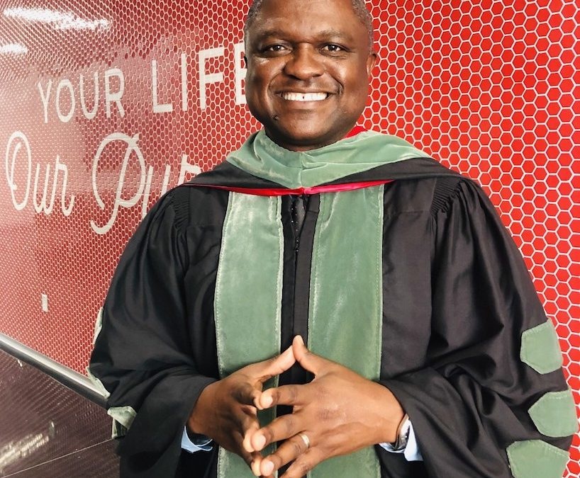 Sixtus Atabong Delivers Virtual Commencement Address For Texas Tech University Health Sciences Center, School of Health Professions Graduation Ceremony.